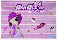 Папка на кнопке А4 KITE 2013 Pop Pixie 200 (PP13-200K)