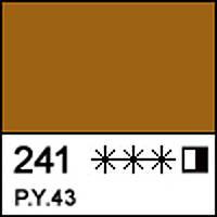 Краска масляная художественная МАСТЕР-КЛАСС охра темная Котайк 46 мл. ЗХК 351761 Невская палитра