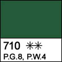 Краска масляная художественная СОНЕТ зеленая темная 46 мл. ЗХК 351957 Невская палитра