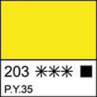 Краска темперная МАСТЕР-КЛАСС кадмий лимонный, 46мл ЗХК