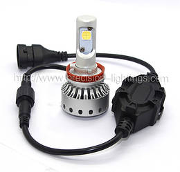 H8 PL-11G Mini Size LED Headlight Premium Short (5000Lm) CREE-XHP50+Canbus Function