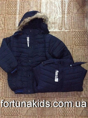 Куртки зимние на меху для мальчиков NICE WEAR 8-16 лет