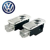 Лазерная проекция логотипа в двери автомобиля Volkswagen VW Passat B5 B5.5 / Phaeton / Touareg