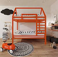 Двухуровневая кроватка-домик