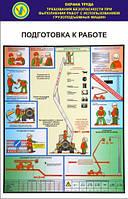 Комплект стендов по охране труда «Правила безопасности при работе с автоподъемником»