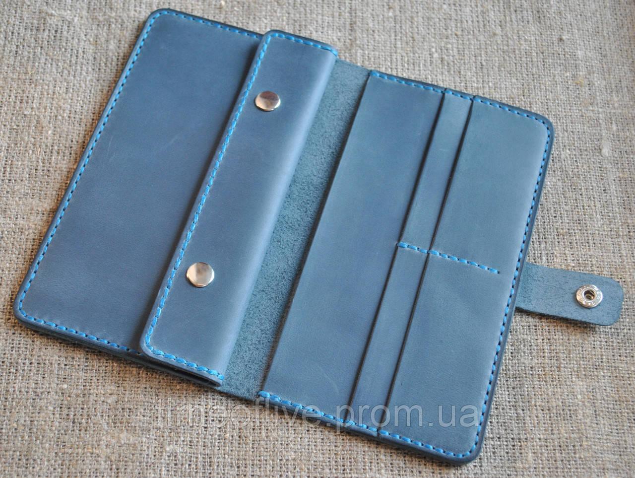 440fb1a031ef Вместительный кошелек ручной работы из натуральной кожи: продажа ...