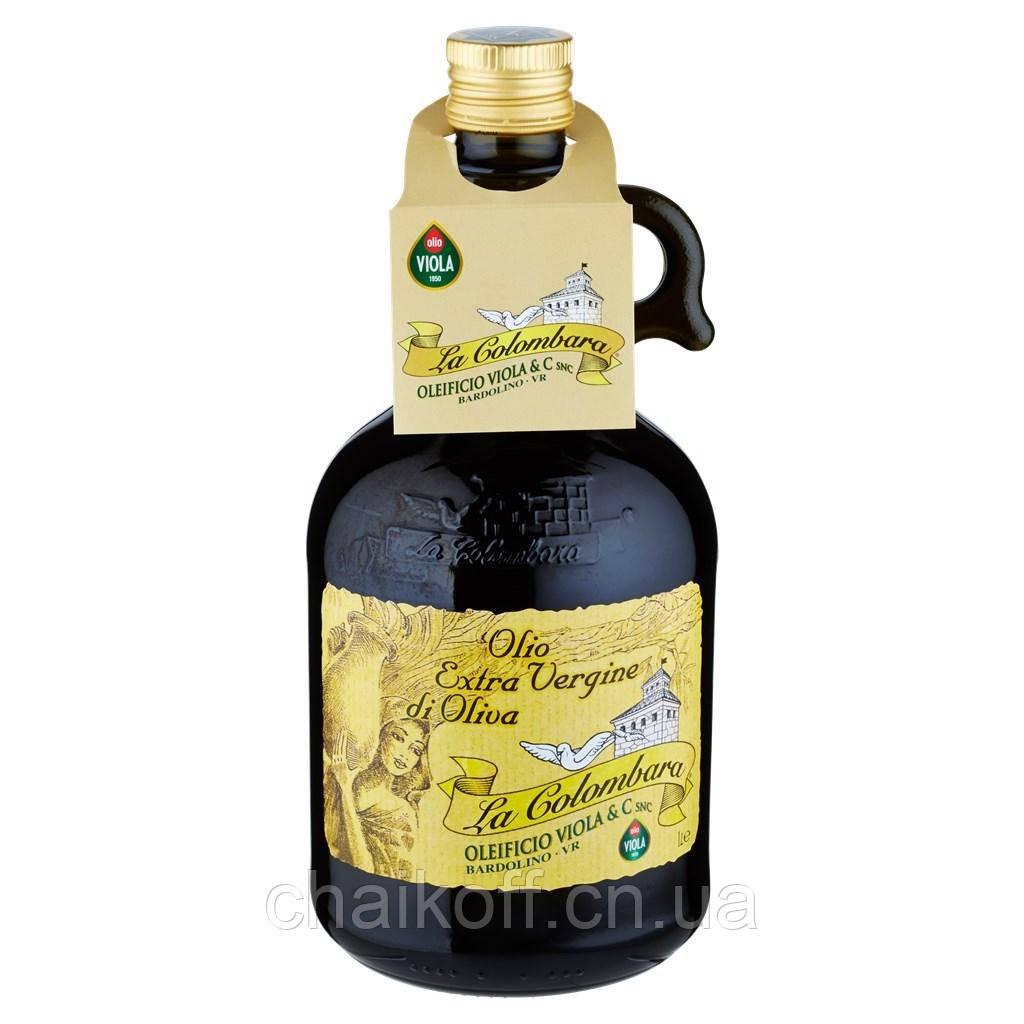 Масло оливковое La Colombara Extra Vergine Viola 1 л.( Италия)