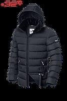 Зимняя мужская куртка с воротником из иск. мутона (3 цвета)