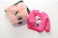 Теплый  свитер для девочки  DOLLS