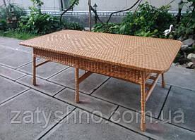 Стол плетеный большой