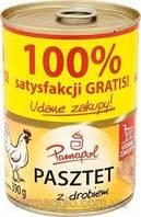 Куриный паштет Pamapol, 390 грамм Польша