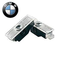 Подсветка двери с логотипом авто купить BMW