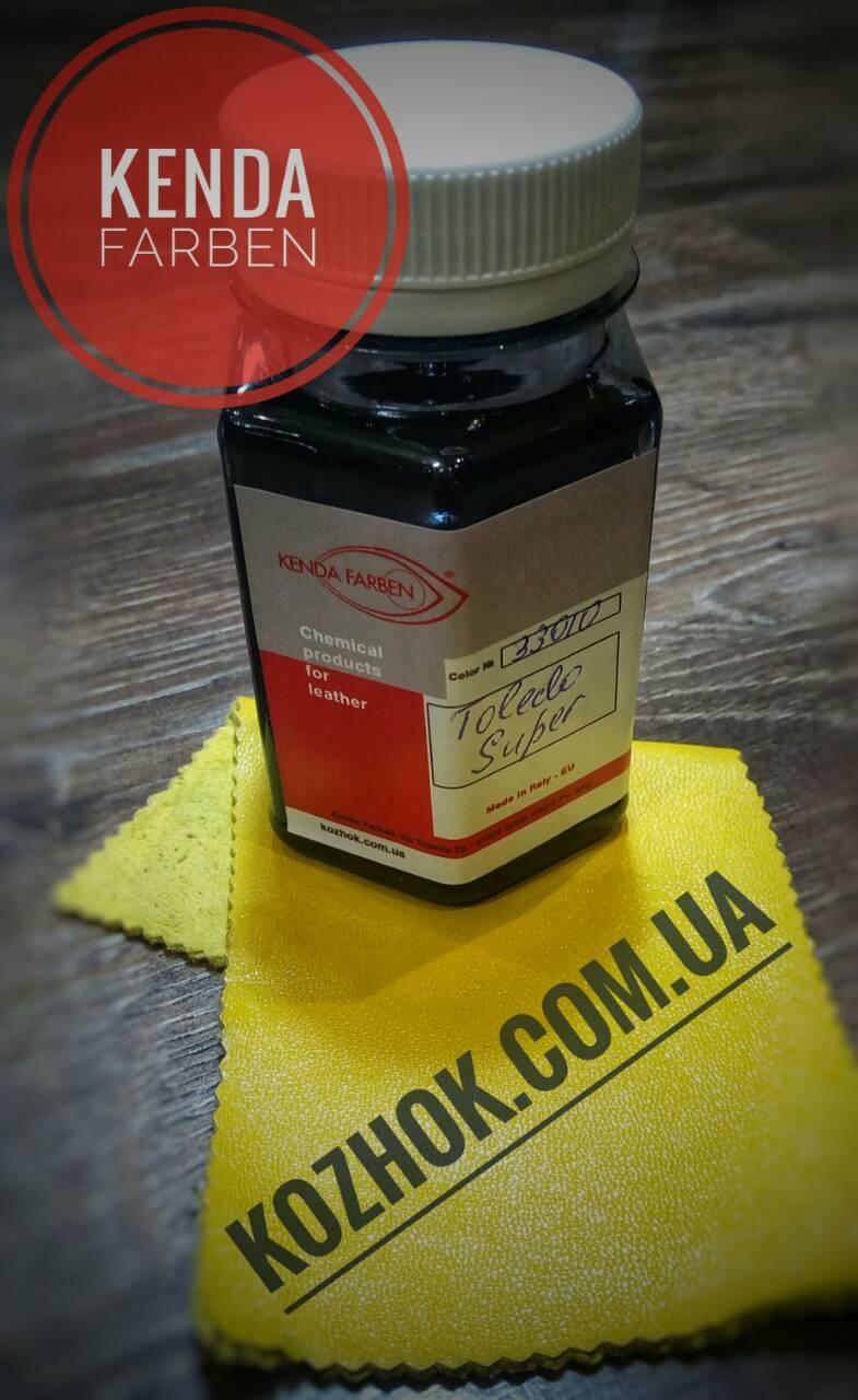 Краска для кожи,замши,нубукаToledo Super цв.Желтый 100мл