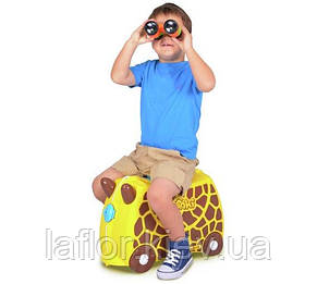 Детские чемоданы на колесиках Trunki Giraffe, фото 2