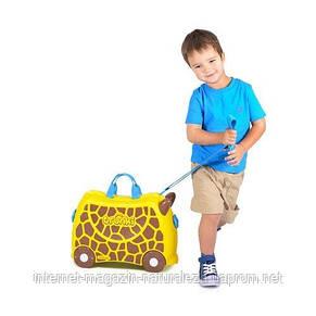 Детские чемоданы на колесиках Trunki Giraffe, фото 3