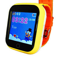 Умные часы Smart Baby Watch Q100s(GW200s) Orange GPS,Wifi,Вибро