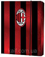 Папка картонная для тетрадей на резинке В5 KITE 2014 Milan 210