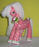 Мягкая игрушка Лошадка Принцесса с пышной гривой, фото 1