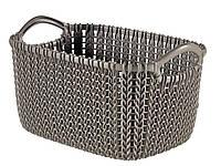 """Корзина для хранения Curver """"Knit"""" 03675 (3л)"""