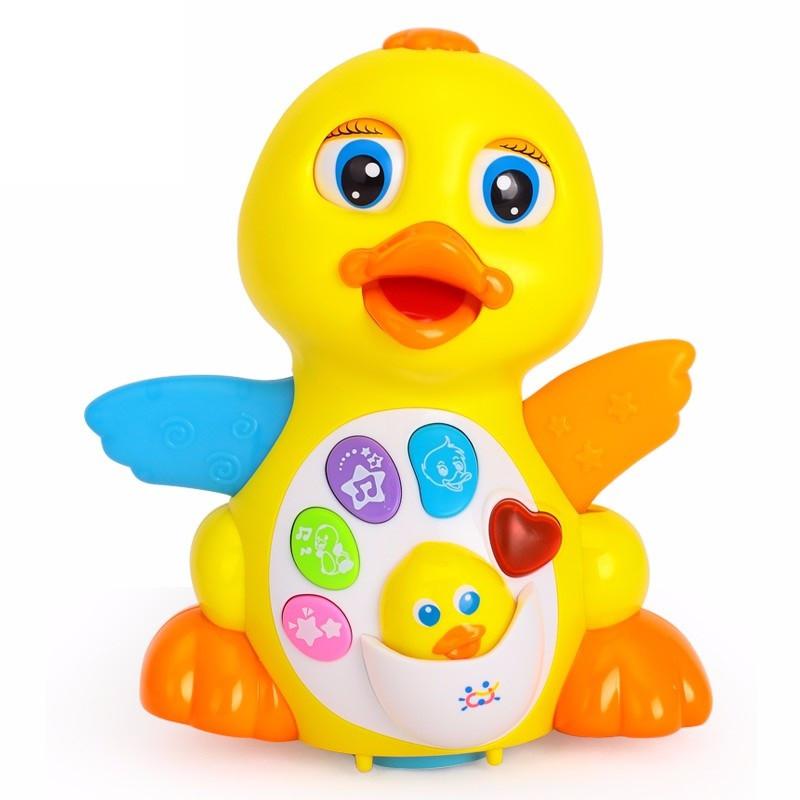 Игрушка Желтый утенок Hola Toys (808)