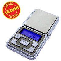 Карманные весы Pocket scale MH-500, ювелирные электронные весы 0,1-500 гр