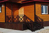 Лестницы наружные деревянные
