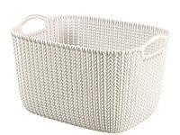 """Корзина для хранения Curver """"Knit"""" 03670 (19л)"""