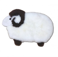 Детский игровой коврик. Ковер в детскую комнату. Натуральная овчина Heitmann Felle (Германия)