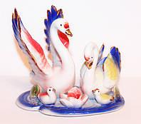 Семья Лебедей (Фаянс)