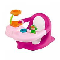 Стульчик для купания Smoby Cotoons Жабка с игрушками 110606