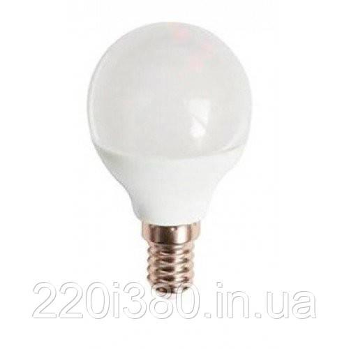 Лампа LB-745  P45 230V 6W 520Lm  E14 4000K FERON