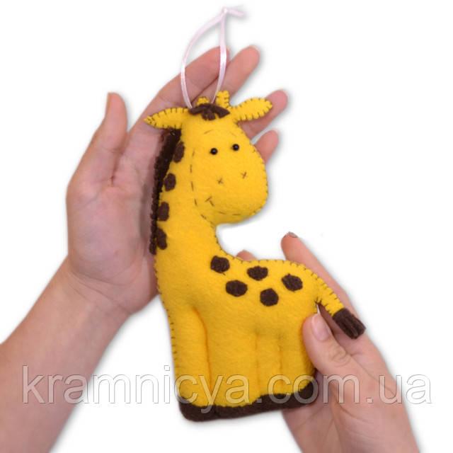 Пошив мягкой игрушки своими руками жираф