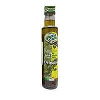 Оливковое масло Extra Vergine Goccia d'oro с орегано 250 мл Италия с/б