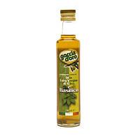 Оливковое масло Extra Vergine с базиликом Goccia d'oro 250 мл Италия с/б