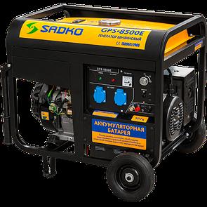 Генератор бензиновий SADKO GPS 8500E (7,5 кВт)