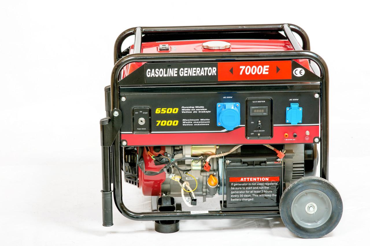 Генератор бензиновий WEIMA WM7000E-3 фази