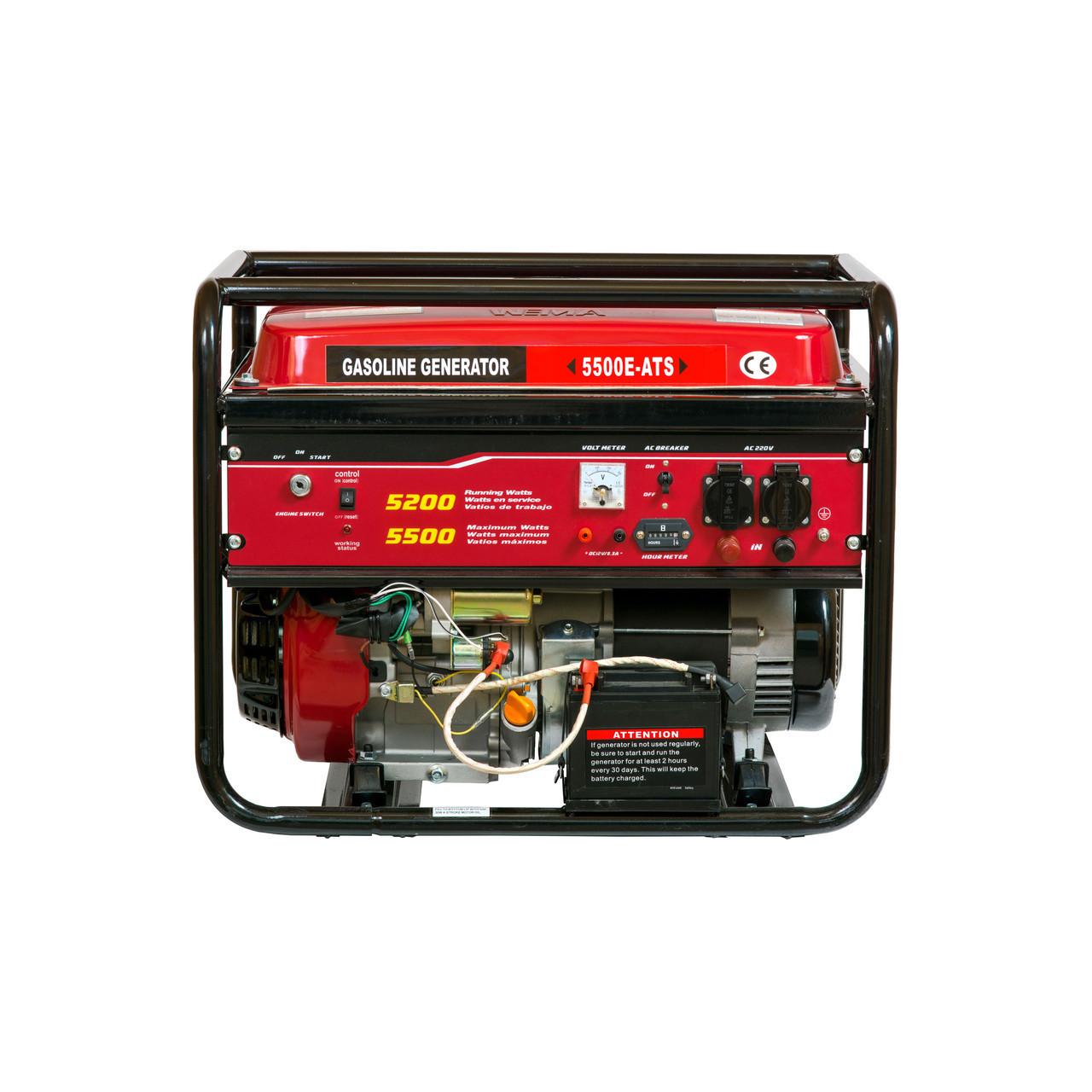 Генератор бензиновий WEIMA WM5500 ATS