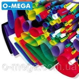 Термоусадочна трубка ø12,0/6,0 мм, чорна, довжина 1 метр