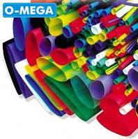 Термоусадочная трубка ø5,0/2,5 мм, зеленая, длина 1 метр