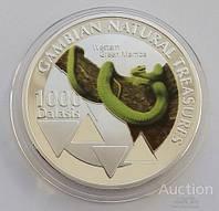 ГАМБИЯ, 1000 ДАЛАСИ 2015 ГОДА  Зеленая Мамба.