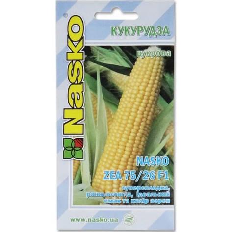 Насіння Кукурудза ЗЕА 75/26 Ф1 ZEA 75/26F1 50 н Наско, фото 2