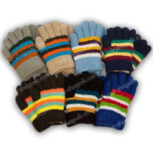 Детские перчатки утепленные, B29