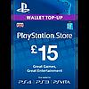 Playstation Network Card £15 (UK)