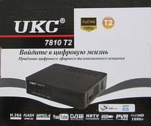Цифровой эфирный Dvb T2 тюнер Ukc 7810