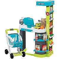 Интерактивный супермаркет City Shop Smoby 350207 с тележкой