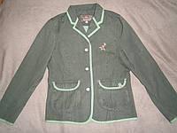 Скидка стильный новый и нарядный джинсовый жакет от ТСМ Чибо Германия для девочки 158-164