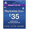 Playstation Network Card £35 (UK)