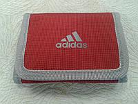 Кошелек adidas красный спортивного стиля