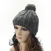 Вязаная стильная шапка РМ7918