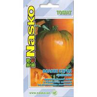 Насіння Томат Волове Серце оранжеве 40 н Наско